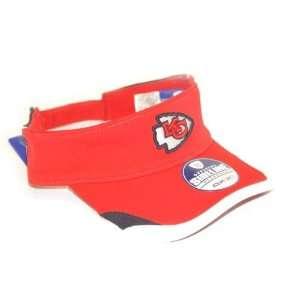Licensed NFL sun visor cap hat   color Red   Reebok hat Retail $22