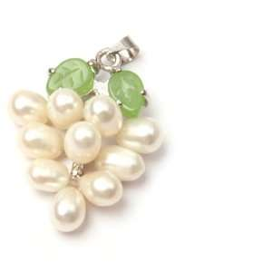 pearl grape dangle white gold plated pendant Fashion DIY Jewelry