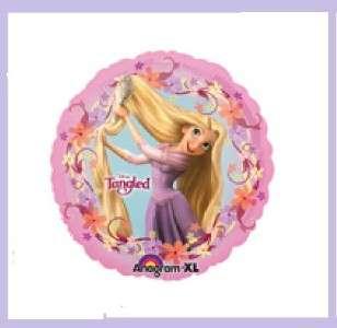 DISNEY RAPUNZEL PINK BIRTHDAY party balloon tangled