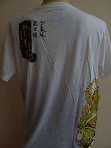 Emperor Eternity Samurai Tattoo T shirt White M L XL
