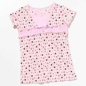 My Twinn Dolls Pink and Brown Polka Dot Shirt Toys