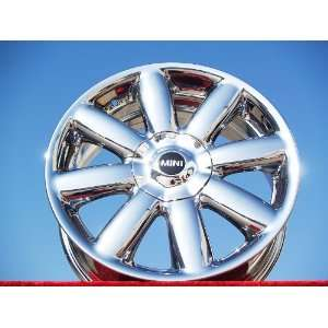 Mini CooperStyle 104 Set of 4 genuine factory 17inch chrome wheels