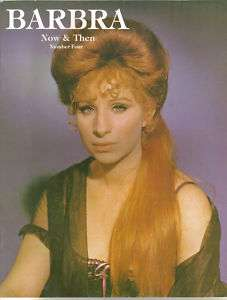 Barbra Streisand Now And Then #4 Magazine 1984