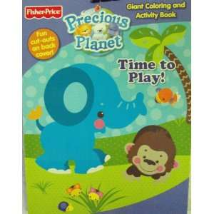 Price Precious Planet Coloring and Activity Book 96 Pg Time to Play