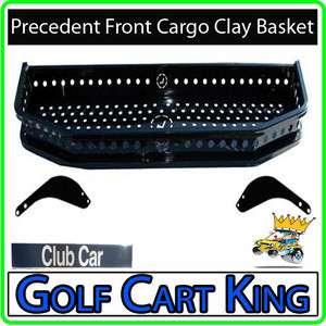 Club Car Precedent Golf Cart Front Cargo Clay Basket