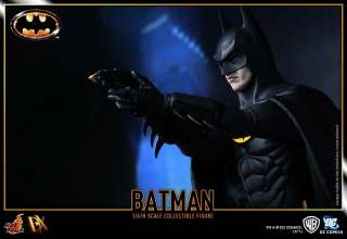 Hot Toys 1/6 1989 MICHAEL KEATON BATMAN DX 09 FIGURE NEW