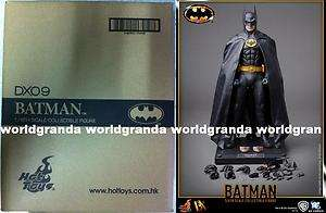 Hot Toys x DC Deluxe DX 09 BATMAN 1989 + GIFT Michael Keaton 12