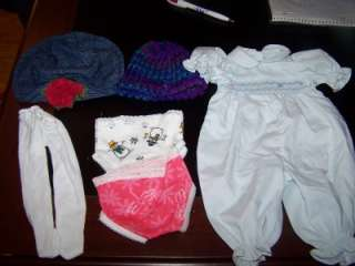 DOLL CLOTHES LOT Fits AMERICAN GIRL+BATTAT+Other 18 DOLLS Shoes+More