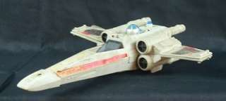 Vintage Star Wars Battle Damage X Wing Fighter