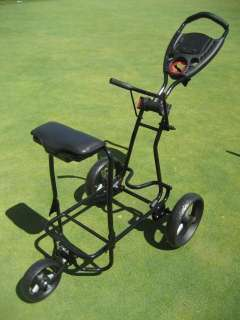 NEW LINKSMAN GOLF X12 3 SPEED THREE WHEEL PUSH PULL CART TROLLEY W