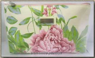 New Jim Thompson Cotton Sweet Pink Flora Cosmetic bag