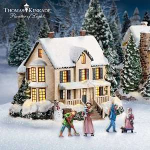 Thomas Kinkades Christmas Village Collection Artist