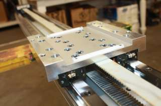 THK GL20N SHS20 Linear Belt Driven Actuator 1470L Linear Guide Rail