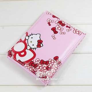 Hello Kitty Cartoon Foldable Mirror w/Plush inside Pink