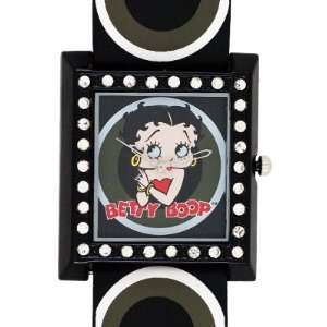 Betty Boop black band with pop art white circles
