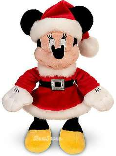 2011 NEW  MRS. CLAUS MINNIE MOUSE Christmas Mini Bean Bag