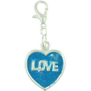 Blue Love Heart Kids Jewelry Pugster Jewelry