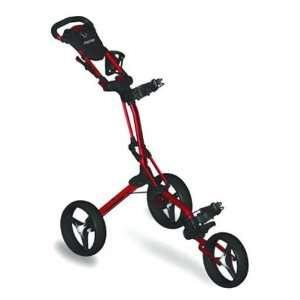 Bag Boy Golf Mini GT Three Wheel Push Cart   Red Sports