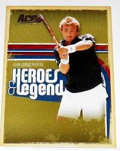 Juan Carlos Ferrero ACE Heros & Legends Tennis Players