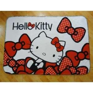 Mini Small size Hello Kitty Car Bed Fleece Baby Blanket Throw computer