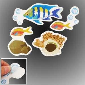 Amico Art Wall Paper Adhesive Sticker Sea World Fish