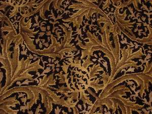 Handmade Fine wool Nepali Black Gold Tibetan rug 9x12 2