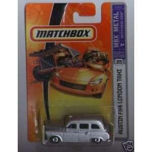Scale Silver Austin FX4 London Taxi Cab Die Cast Car #35 Toys & Games