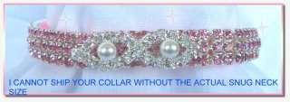 & Pearl Diva~ Crystal Rhinestone Dog Cat Collar   Adorable