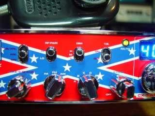 CONNEX 3300HP 10 METER HAM RADIO, REBEL FLAG EDITION, POWERFUL, CLEAN