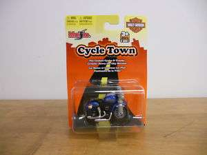 Maisto Cycle Town 15013 Blue Night Train