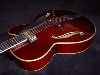 Collectible 40th Ann. Peerless Leela Jazz archtop guitar NAMM Demo w
