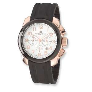 Mens Charles Hubert Rose Gold plated Stainless Chrono