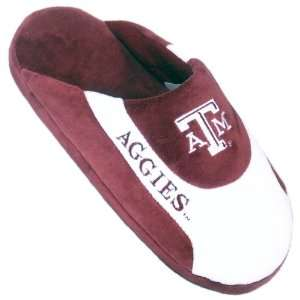 Texas A&M Aggies TAMU NCAA Low Pro Stripe Slippers Small