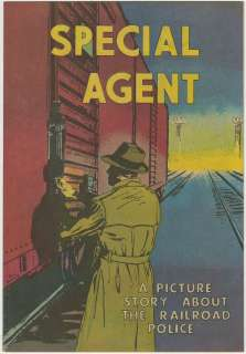 SPECIAL AGENT (Assoc. of American Railroads, 1959) Story of the