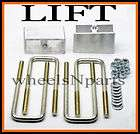 2000   2004 Toyota Tacoma 1.5 TAPERED REAR LIFT BLOCKS KIT 507 items