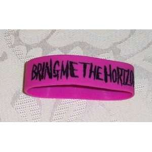 Licensed BRING ME THE HORIZON Rubber Bracelet WRISTBAND