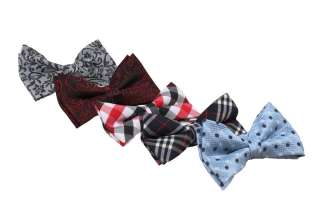 Monster Mens Tuxedo Mixed Designs Neck Bowtie Bow Tie 5pc Mixed Lot #8