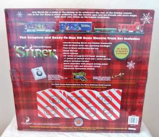 BACHMANN Dreamworks SHREK Holiday Special HO Scale Electric Train Set