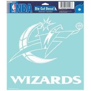 NBA Washington Wizards 8 X 8 Die Cut Decal Sports