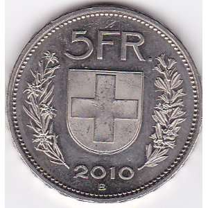 2010 B Switzerland 5 Franc Coin: Everything Else