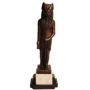 Bronze Egyptian Art Anubis Funerary God Antique Sculpture