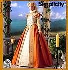 Medieval Queen Gown Surcote Rhen Fair Dress Simplicity Pattern 8725