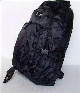 New BESCHWA Black Large Backpack Hiking Travel Rucksack