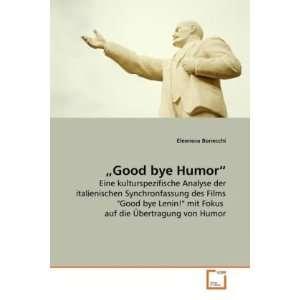 bye Lenin! mit Fokus auf die Übertragung von Humor (German Edition
