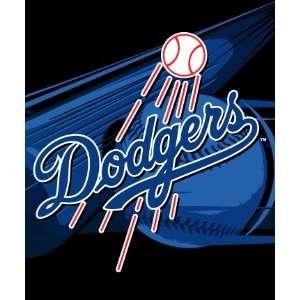 LOS ANGELES DODGERS 50 x 60 Team Logo Super Soft PLUSH