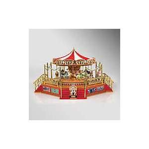 Mr. Christmas Worlds Fair Boardwalk Carousel Home