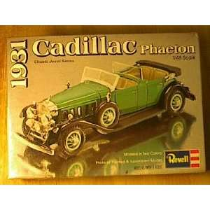 1/48 Scale 1931 Cadillac Phaeton Revell Model Kit
