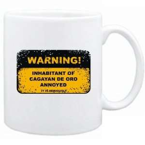 New  Warning : Inhabitant Of Cagayan De Oro Annoyed  Philippines Mug