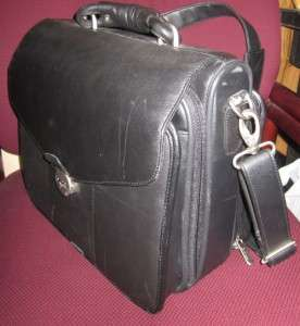 Deluxe Dell Leather Computer Bag