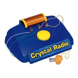 Elenco MX901C Electronic Crystal Radio kit: Toys & Games